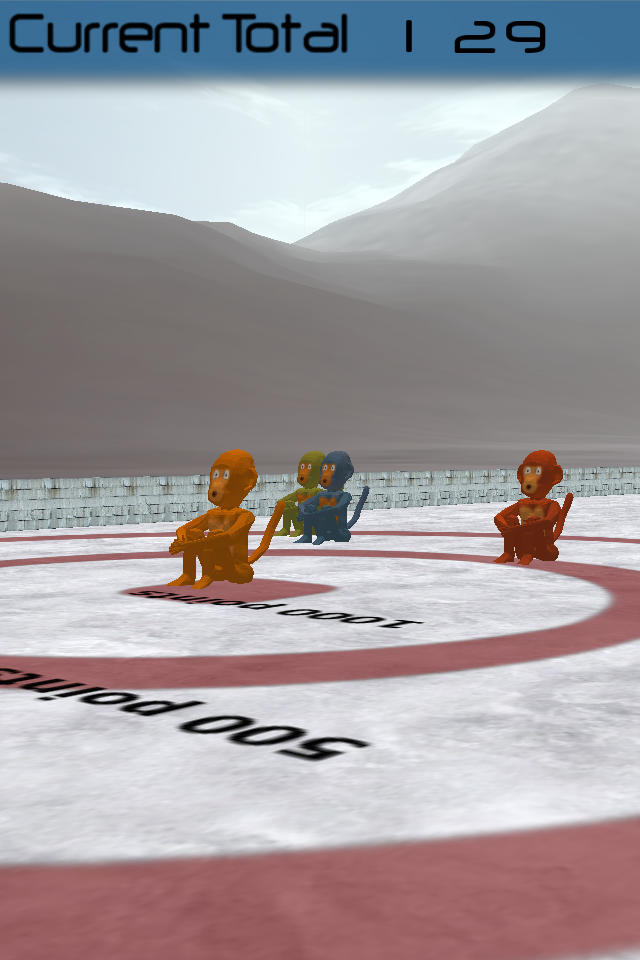 Screenshot 3D Monkey Curling
